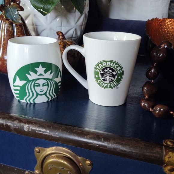 2009 2010 Starbucks Mugs ( set of 2 )